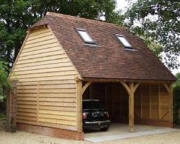 Ideal pour un carport pour 1 voiture ou terrasse couverte